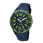 Orologio analogico Sports Watch da uomo - Blu/lime - Ø 4,8 cm