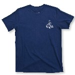 T-Shirt con Ancora Ancient Mariner in cotone blu - Varie taglie