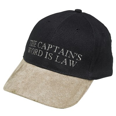 NA 6238 - Cappellino THE CAPTAIN'S WORD IS LAW