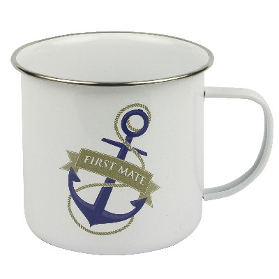NA 6012 - Tazza mug in metallo smaltato - First Mate