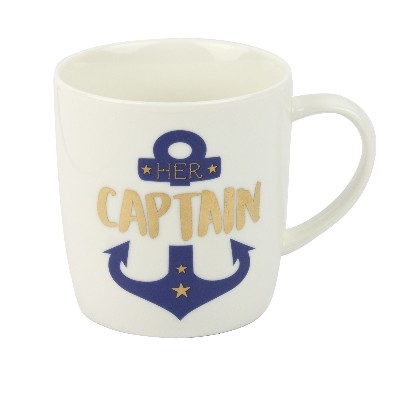 NA 5892 - Tazza Her Captain in porcellana - Ø 9 cm