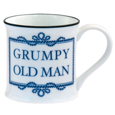 NA 6294 - Tazza Grumpy Old Man in porcellana - Ø 8 cm